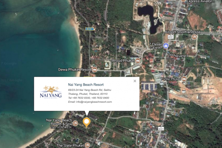Hotel Location Airport Boutique Resort Nai Yang Beach